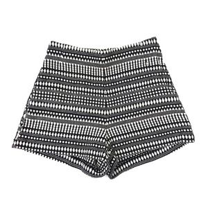 H&M high waisted shorts in texture